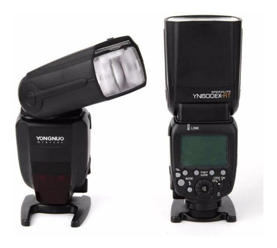 Flash Yongnuo Yn 600ex Rt Ii P/ Câmeras Canon + Difusor