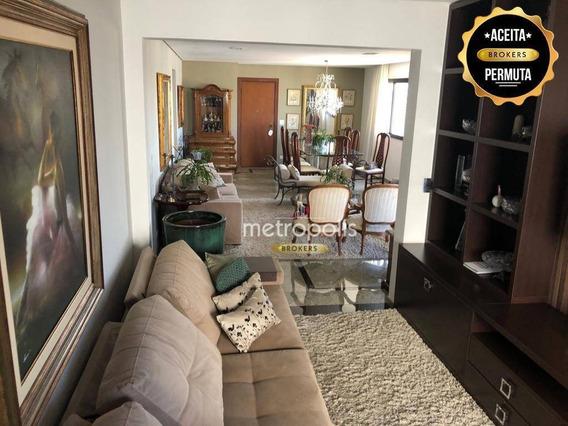 Apartamento À Venda, 165 M² Por R$ 860.000,00 - Santo Antônio - São Caetano Do Sul/sp - Ap2056