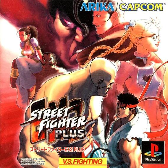 Street Fighter Ex Plus 2 - Playstation 1 Psx 1998 - Psone