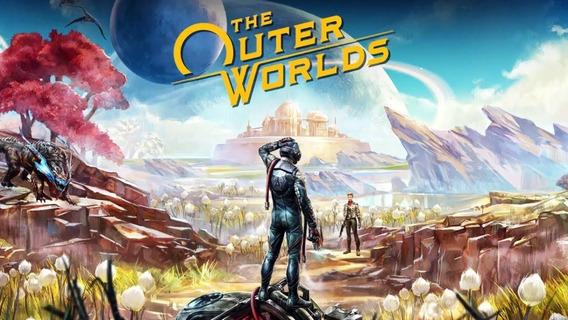 The Outer Worlds + 2 Jogos ( Mídia Física ) Pc - Dvd