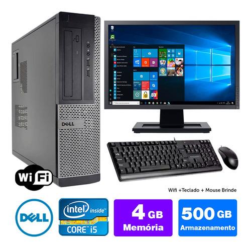 Desktop Barato Dell Optiplex Int I5 2g 4gb 500gb Mon17w