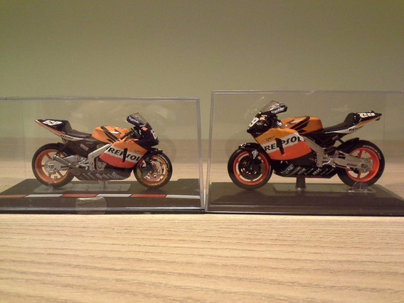 Miniatura Moto Honda Rc211v Nicky Hayden Escalas 1:22 E 1:24
