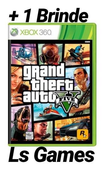 Gta V Midia Digital Xbox 360 + Brinde
