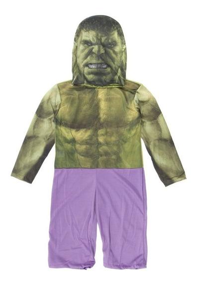 Disfraz De Hulk Original Con Accesorios Avengers + Talles
