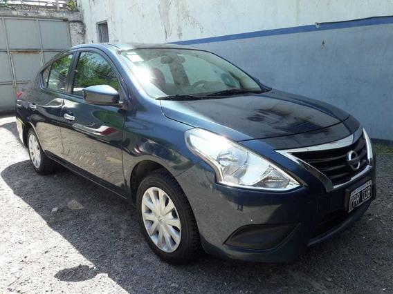 Nissan Versa Sense 1.6 2016 4 P Azul Excelente Estado S.a