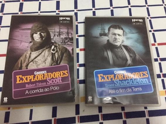 Dvd Grandes Exploradores: Ernest Shackleton + Robert Scott