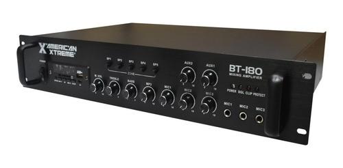 Amplificador Sonido Musica  Ambiental 5 Zonas Sonorizacion