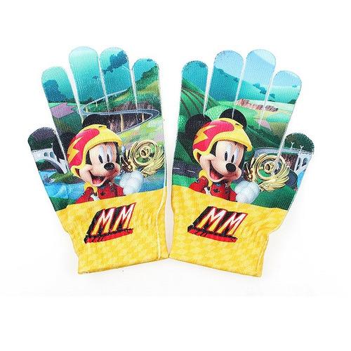 Imagem 1 de 1 de Luva De Lã Disney Mickey Mouse Amarelo