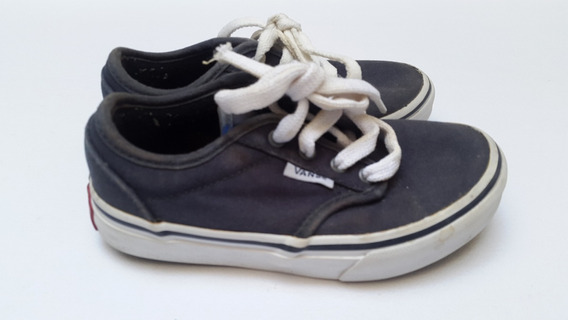 Zapatillas Vans Clasicas Usadas T10.5us 27ar Color Azul Navy
