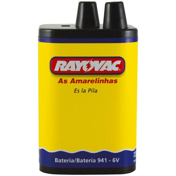 Pilha Rayovac Bateria 6v - Envio Rápido