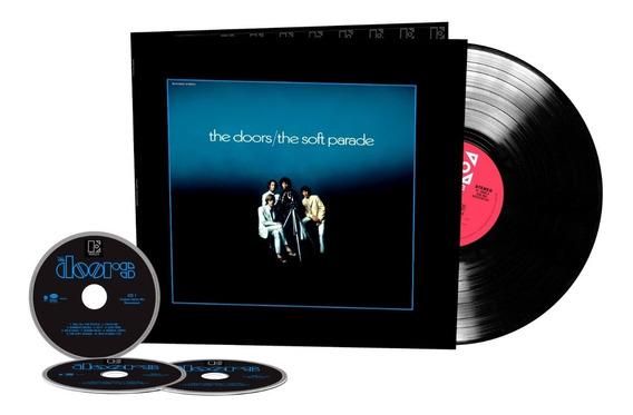 The Doors Soft Parade 50 Anniversary 3 Cd + Vinilo Nuevo