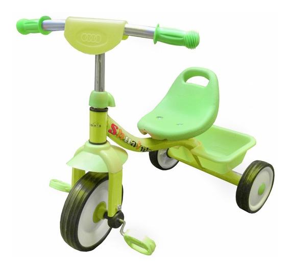 Triciclo Infantil Con Canasto Estructura De Caño