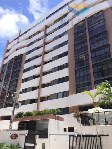 Apartamento 113,50m², 3 Quartos, Suíte, Armários, Jatiúca, Maceió, Al - Wma1331