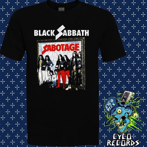 Imagen 1 de 3 de Black Sabbath - Sabotage Vintage - Metal / Rock - Polera- Cy