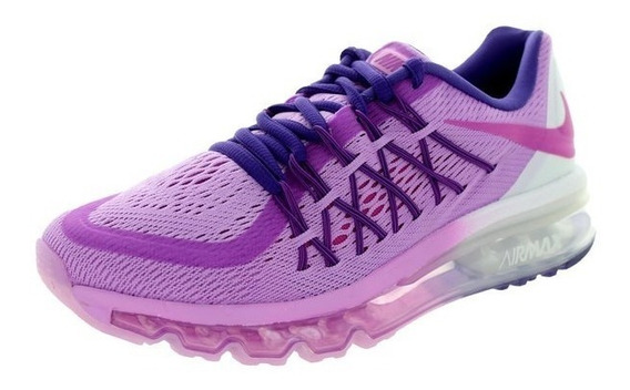 Tenis Nike Air Max 2015 (gs) Fuchsia Girls