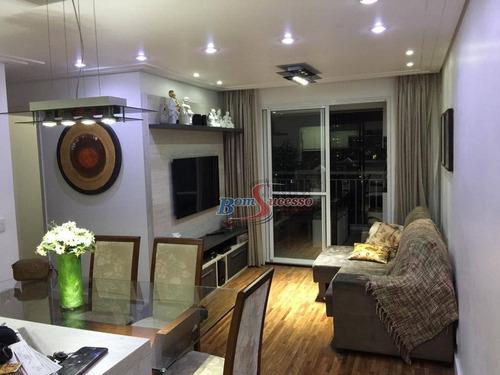 Apartamento Com 3 Dormitórios À Venda, 78 M² Por R$ 660.000,00 - Vila Formosa - São Paulo/sp - Ap2199