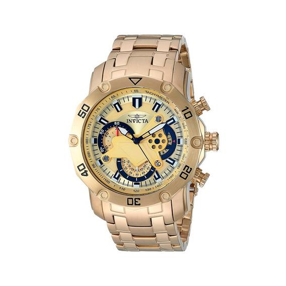 Relógio Masculino Invicta Pro Diver Dourado 22761