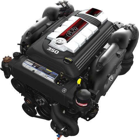 Motor Mercury Mercruiser 350hp - 6.2l - Dts Bravo3