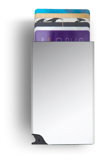 Protector De Tarjetas - Card Slider Walla - Silver