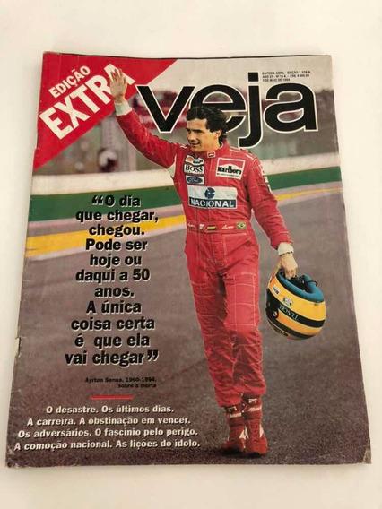 Revista Antiga Airton Senna - Veja Edição Extra 1994