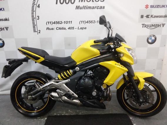 Kawasaki Er 6 N 2013 Otimo Estado Aceito Moto