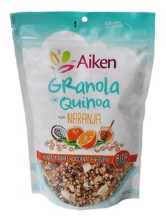 Granola De Quinoa Naranja Vegetariano Aiken 250 G