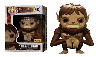 Attack On Titan Beast Titán Funko Pop Exclusivo De Hottopic