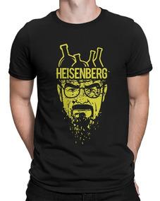 Camiseta Breaking Bad Heisenberg Química Séries Seriados