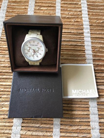 Relógio Michael Kors Em Madrepérola (original)
