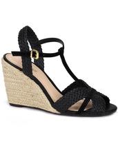 de74661ab Sandalia Anabela Lara Preto - Sapatos no Mercado Livre Brasil