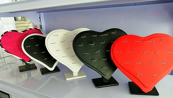 Exhibidor Corazón Para Dijes