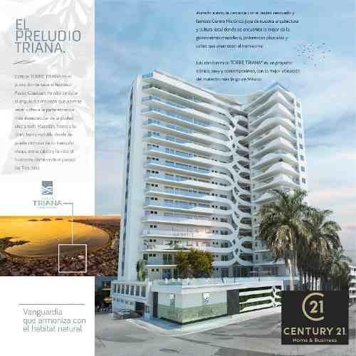 Condominios En Venta Torre Triana En Mazatlan