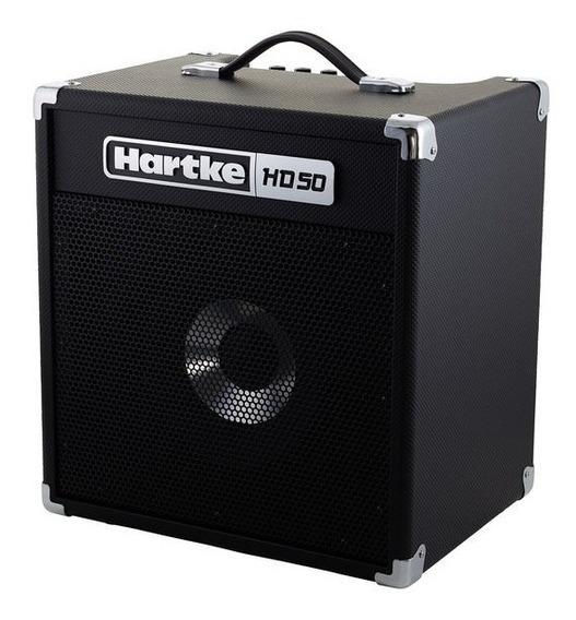 Amplificador P/bajo Hartke Hd50 En Belgrano!!