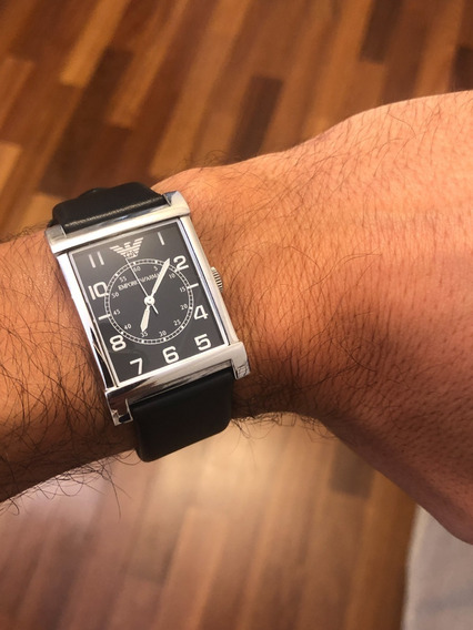 Relógio Emporio Armani Retangular