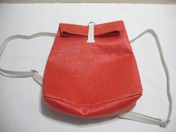 Bolsa Mochila Vermelha Germaine De Capuccini Usado Bom Estad