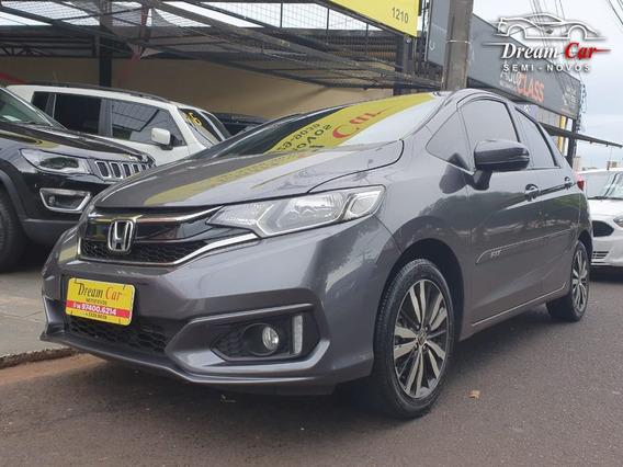 Honda Fit Ex 1.5 Cinza 2019