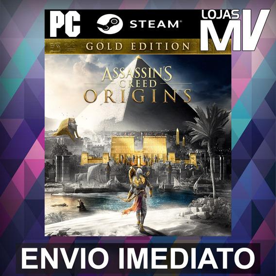 Assassins Creed Origins Gold - Pc Steam Gift Presente