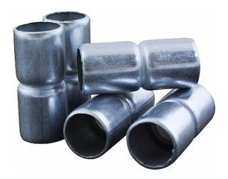 Union De Hierro 1 1/2 Caño Metalico *oferta E631* X10 Uni