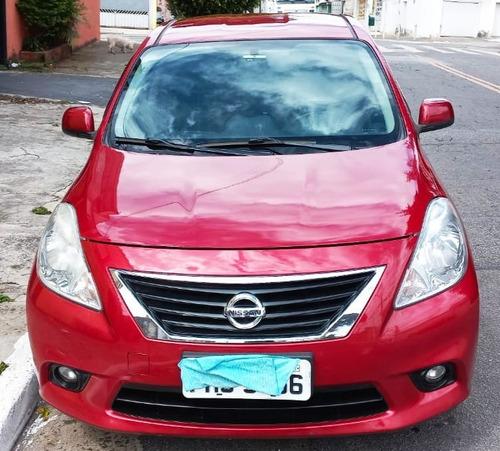 Imagem 1 de 10 de Nissan Versa Sl 1.6 16v - Flex - Mecânico - Completo - 2013
