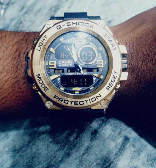 Relógio Masculino Gshock +caixa A Prova Dagua Frete Grátis