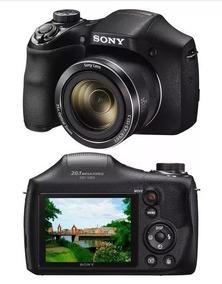 Câmera Sony Dsc H300 + Capa + 2 Sdhc Card 32gb