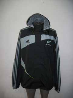 Chamarra Original adidas Rugby All Blacks Nueva Zelanda