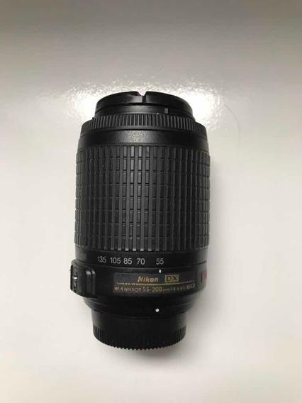 Lente Nikon Af-s 55-200mm F/4-5.6