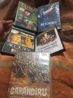 Dvd Coleção Nacionais Filmes Brasileiros 5 Dvds Originais