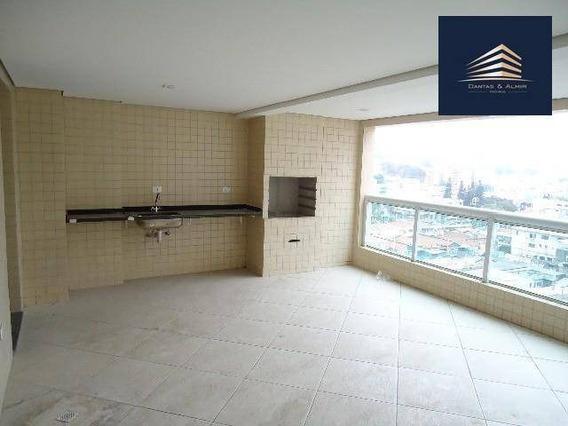 Apartamento Alto Padrão, Edifício Terrazzo, 165m², 3 Suítes, 3 Vagas, Estuda Permuta. - Ap0707