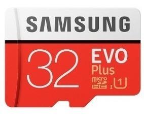 Cartão Micro Sd Samsung Evo 32gb Classe 10 80mb/s Uhs