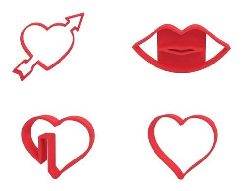 Moldes Para Galletas Y Tortas Del Dia De Los Enamorados