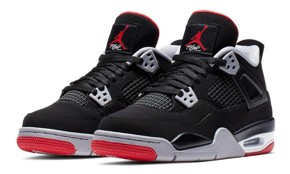 Air Jordan Retro 4 Bred 2019 (gs)