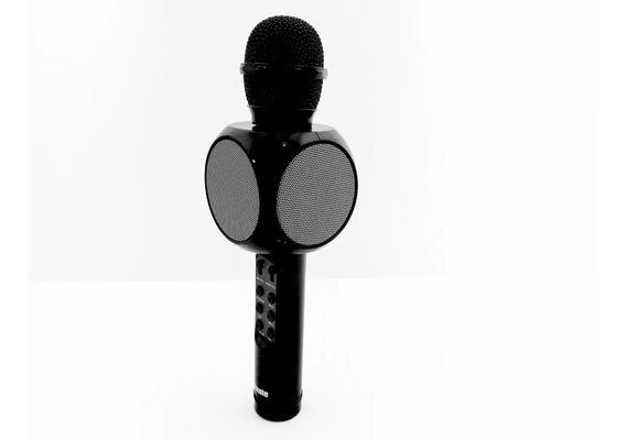 Microfone Bluetooth Tomate Karaokê Entrevista Áudio Youtube