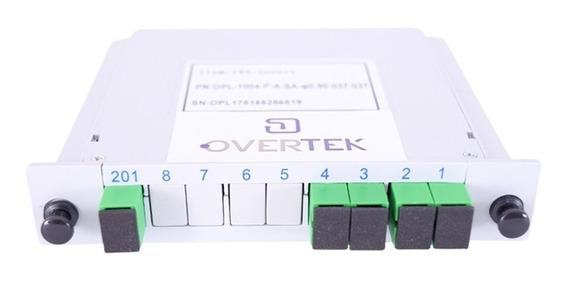 Splitter Óptico Modular Lgx 1x4 Conectorizado Sc/apc